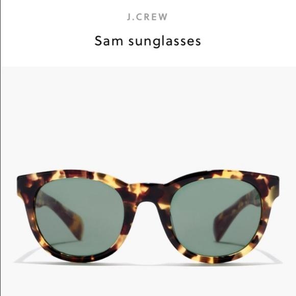 1c87a56557bb5 J. Crew Accessories - NEW J. Crew  Sam  Sunglasses Tokyo Tortoise